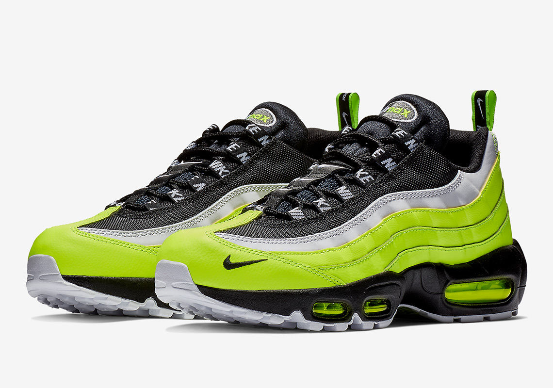 1b5f8f44b77 Nike Adds Heel Tabs And Mini Swooshes To The Air Max 95