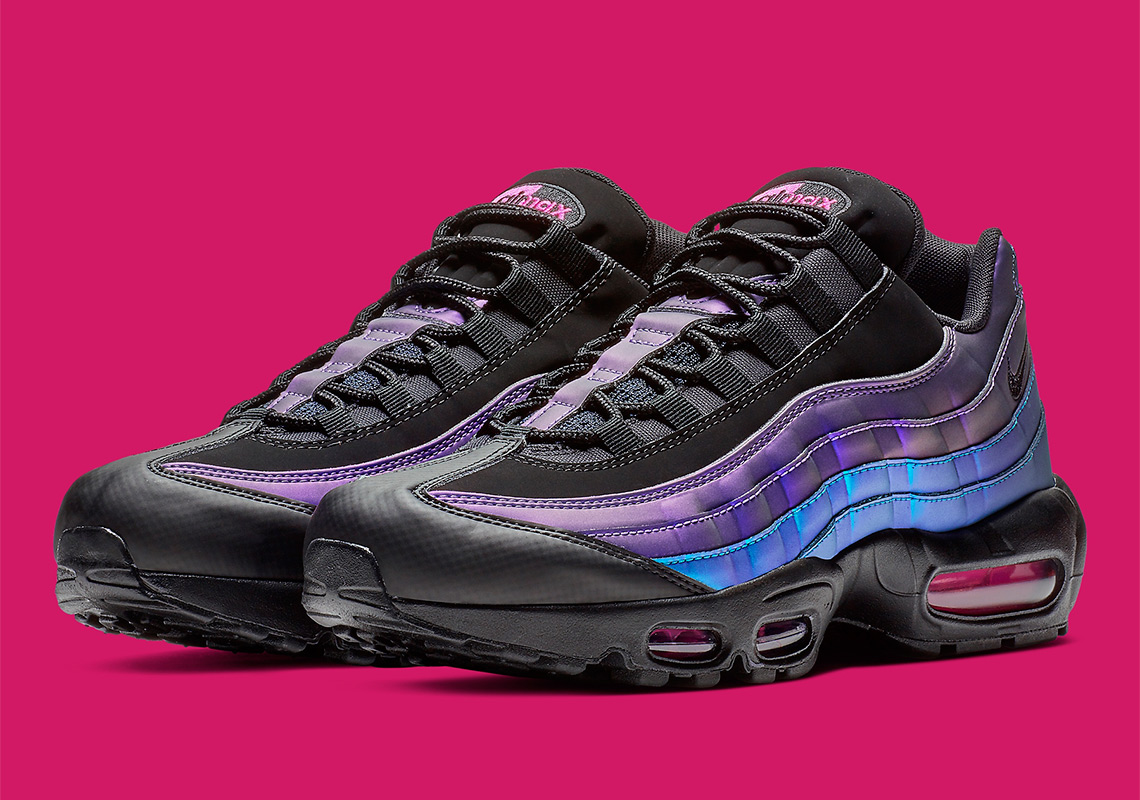 watch d676b 5d379 The Nike Air Max 95 Arrives In Playstation Colors