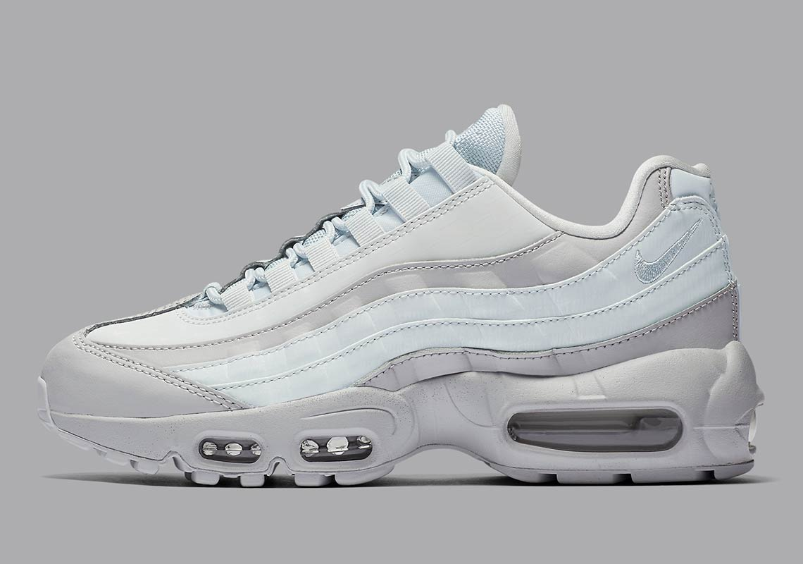 the latest 902e4 5e817 The Nike Air Max 95 LX Arrives In A Clean Grey And White