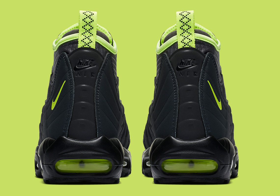 separation shoes 106bc 9c0dd Black And Volt come to The Nike Air Max 95 Sneakerboot ...
