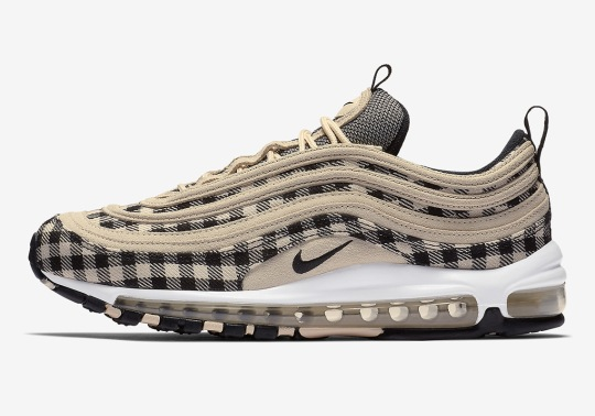 First look At The Nike Air Max 97 In Flannel Prints