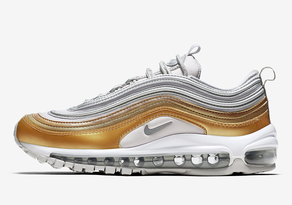 meet 7d5f1 01b1f Nike Air Max 97. Release Date November 15th, 2018 160. Color Vast  GreyMetallic Silver-Metallic Gold