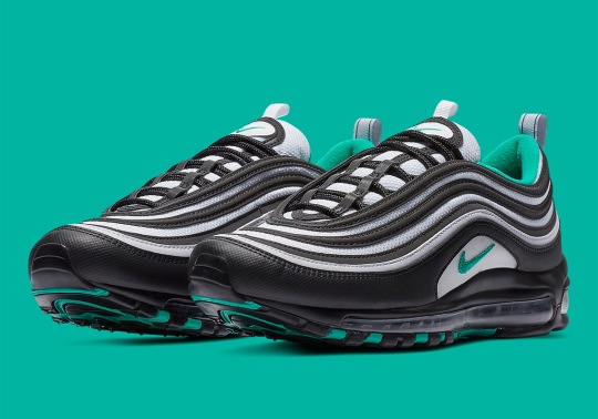 The Nike Air Max 97 Is Arriving In Black And Teal