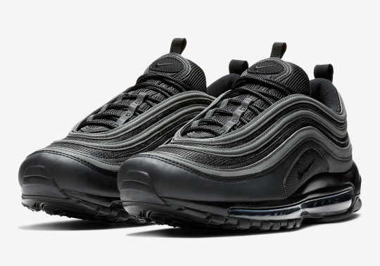 "Another Nike Air Max 97 ""Triple Black"" Is Returning Soon"