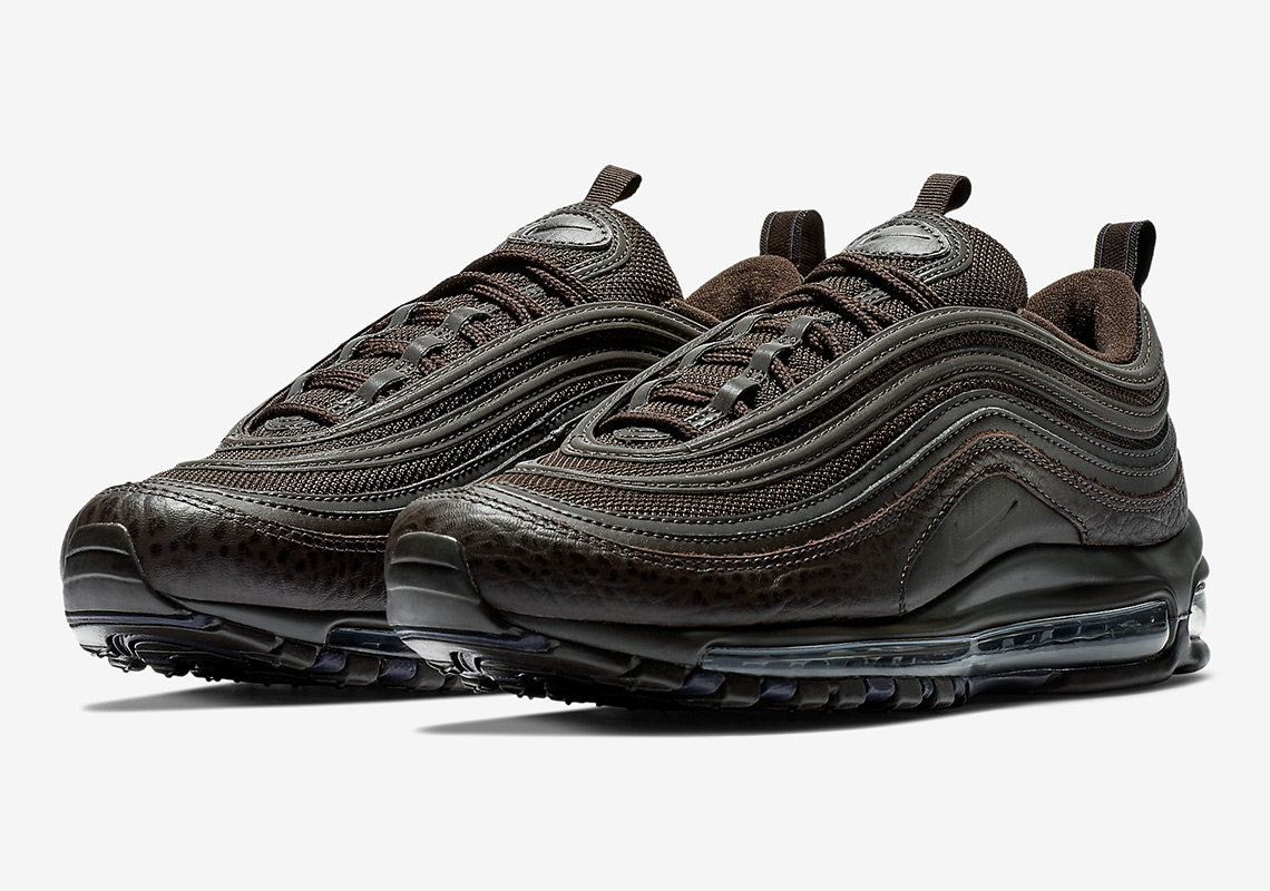 Air Max 97 SE leather and mesh sneakers