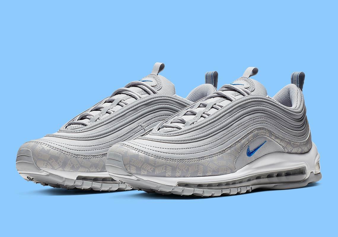 wholesale dealer 0edec 63d1b Nike Air Max 97 Silver + Blue BQ3165-001 Release Info ...