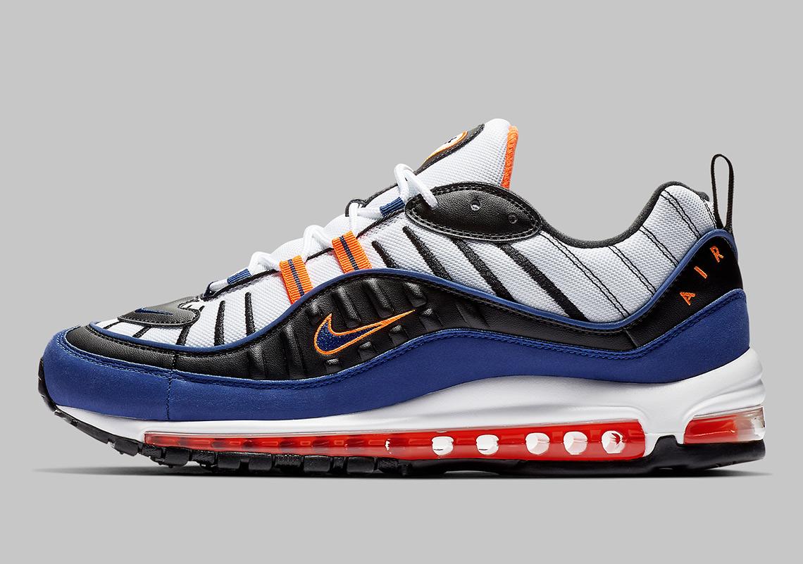 Nike Air Max 98 White Royal Blue CD1536 100