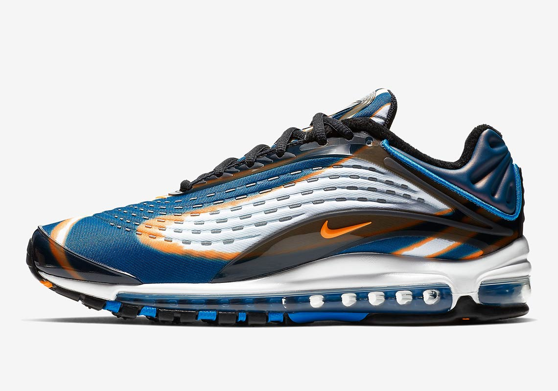 "buy online 696de 4e498 Nike Air Max Deluxe ""Blue Force"" Releases On November 7th"