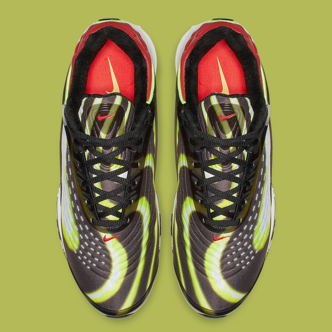 53c8541375 Nike Air Max Deluxe Habanero Red AJ7831-003 Release Info ...