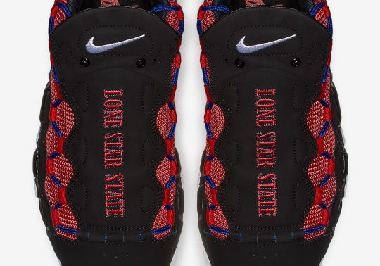 "This Nike Air More Money ""Lone Star State"" Is Just For Texans"