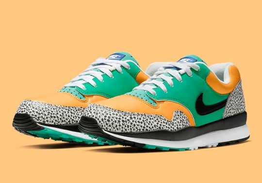 The Nike Air Safari Arrives In Green And Yellow