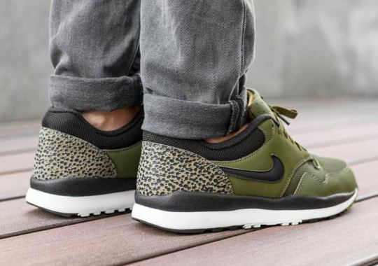 The Nike Air Safari Appears In An Olive Canvas Colorway