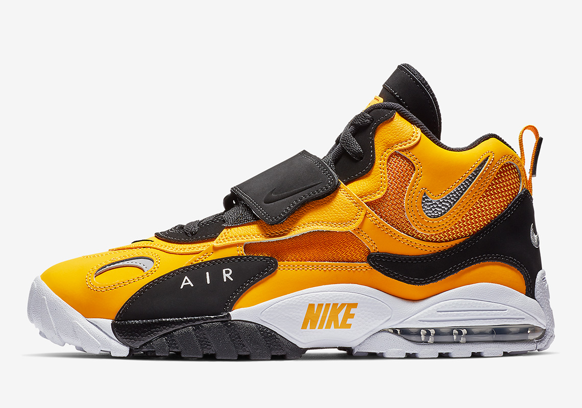 32fd42c847 Nike Air Max Speed Turf University Gold BV1165-700 Release Info ...