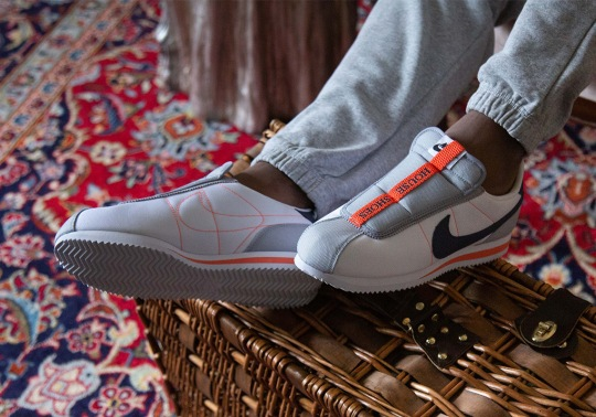 "Where To Buy Kendrick Lamar Nike Cortez Slip ""House Shoes"""