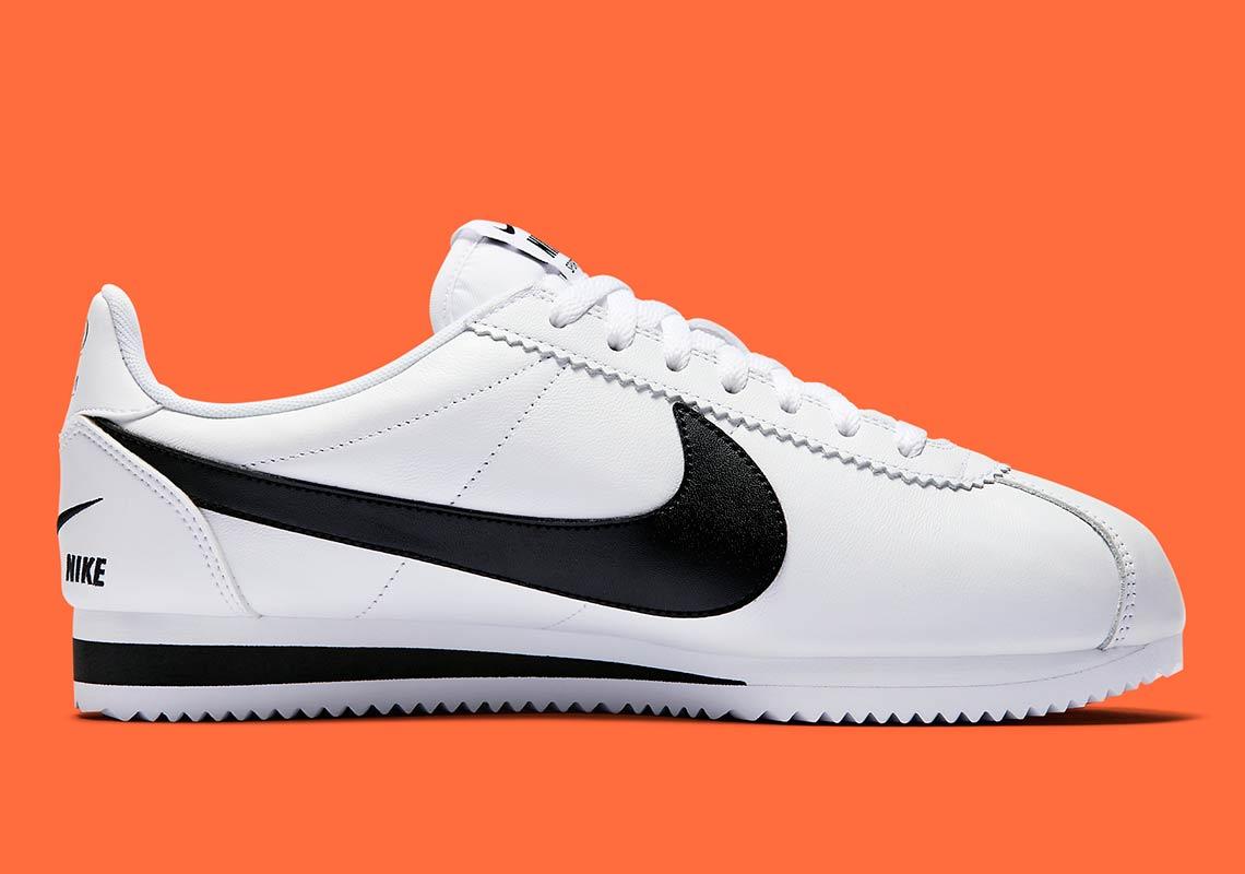 Nike Cortez Multi Swoosh White Black 807480 104