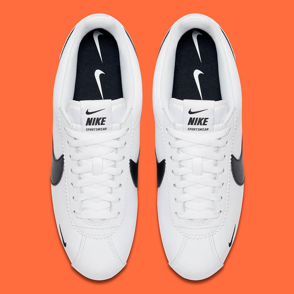 db88aadefc5 Nike Cortez Multi Swoosh White Black 807480-104
