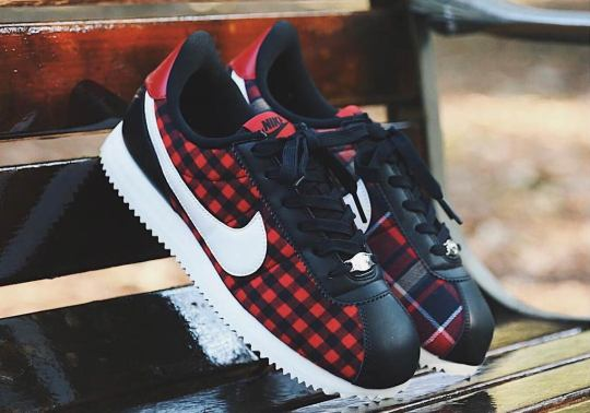 The Nike Cortez Gets Dressed Up In Plaid