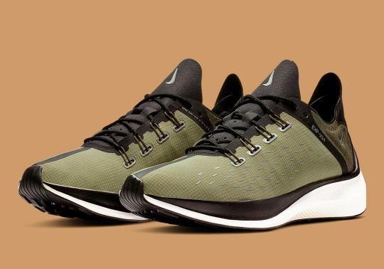 The Nike EXP-X14 Releases In Olive Tones