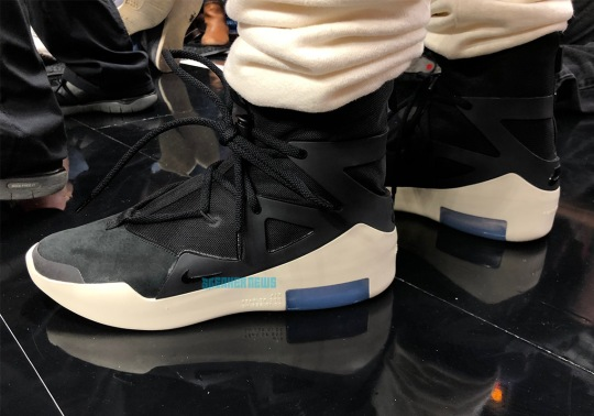 Jerry Lorenzo's Nike Fear Of God Shoes Revealed In Black