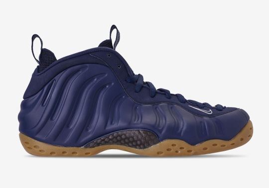 Up Close With The Nike Air Foamposite One In Navy And Gum