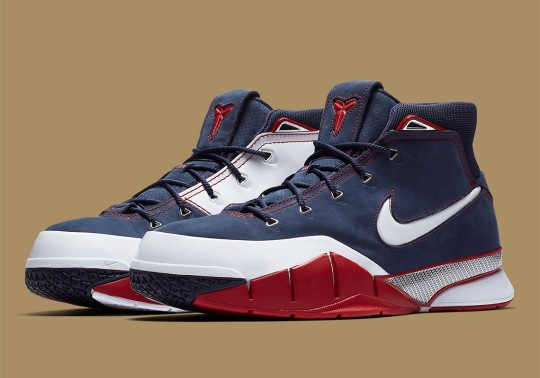 "Nike Zoom Kobe 1 Protro ""USA"" Is Returning"