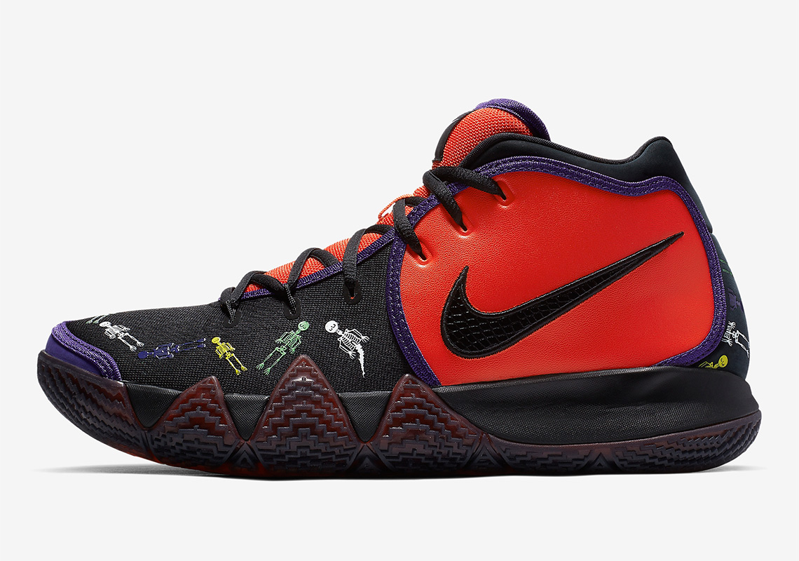 buy popular 32ba5 5c7e6 Nike Kyrie 4 Day Of The Dead CI0278-800 Release Info ...