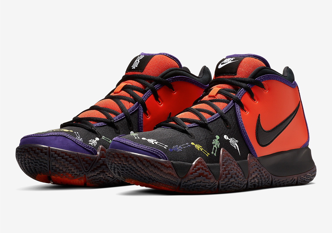 130a9a3db4a5d Nike Kyrie 4 Day Of The Dead CI0278-800 Release Info | SneakerNews.com