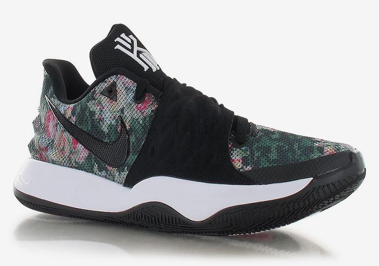 e5e878107573 ... black d484d 0a256  spain nike adds floral patterns to the kyrie low 1  sneakernews aacad dc164