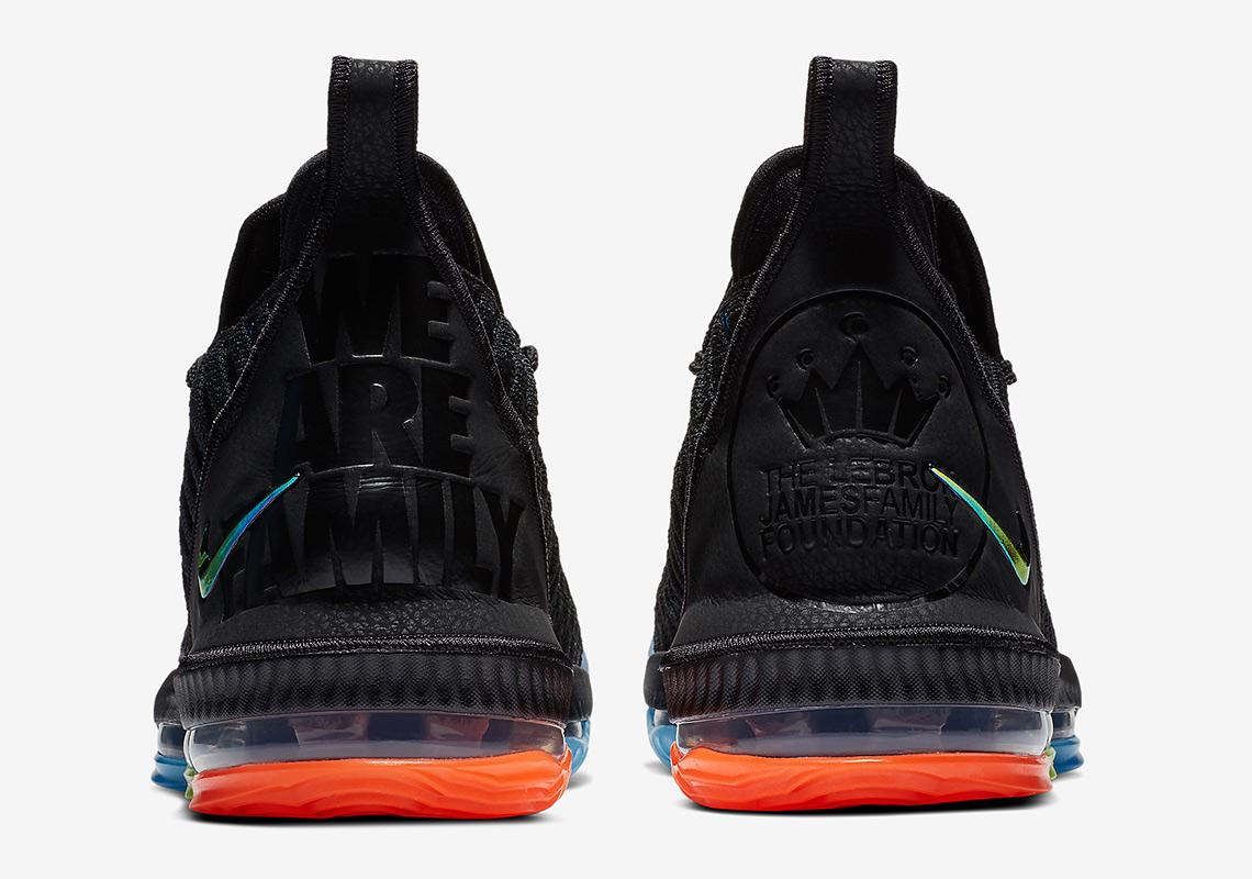 76b1c9fed6a Nike LeBron 16 I Promise AO2595-004 Release Info