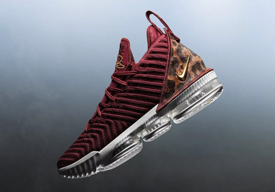 "The Nike LeBron 16  ""King"" Will Release At Tip-Off"
