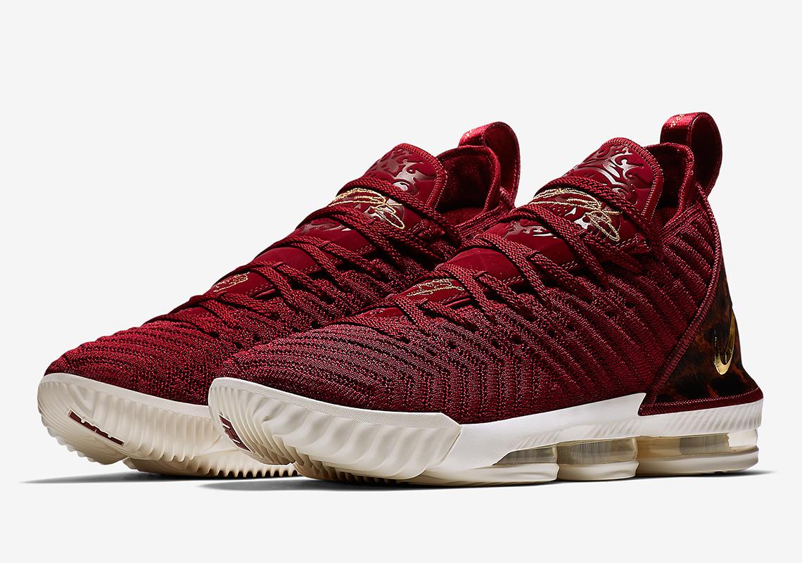 Nike LeBron 16 King AO2595-601 Release Info