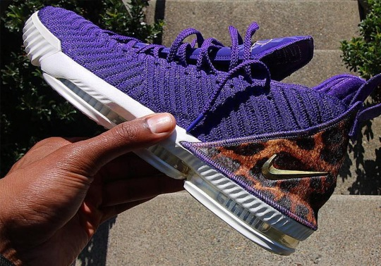 """Nike Releases An Alternate Purple Colorway Of The LeBron 16 """"King"""""""