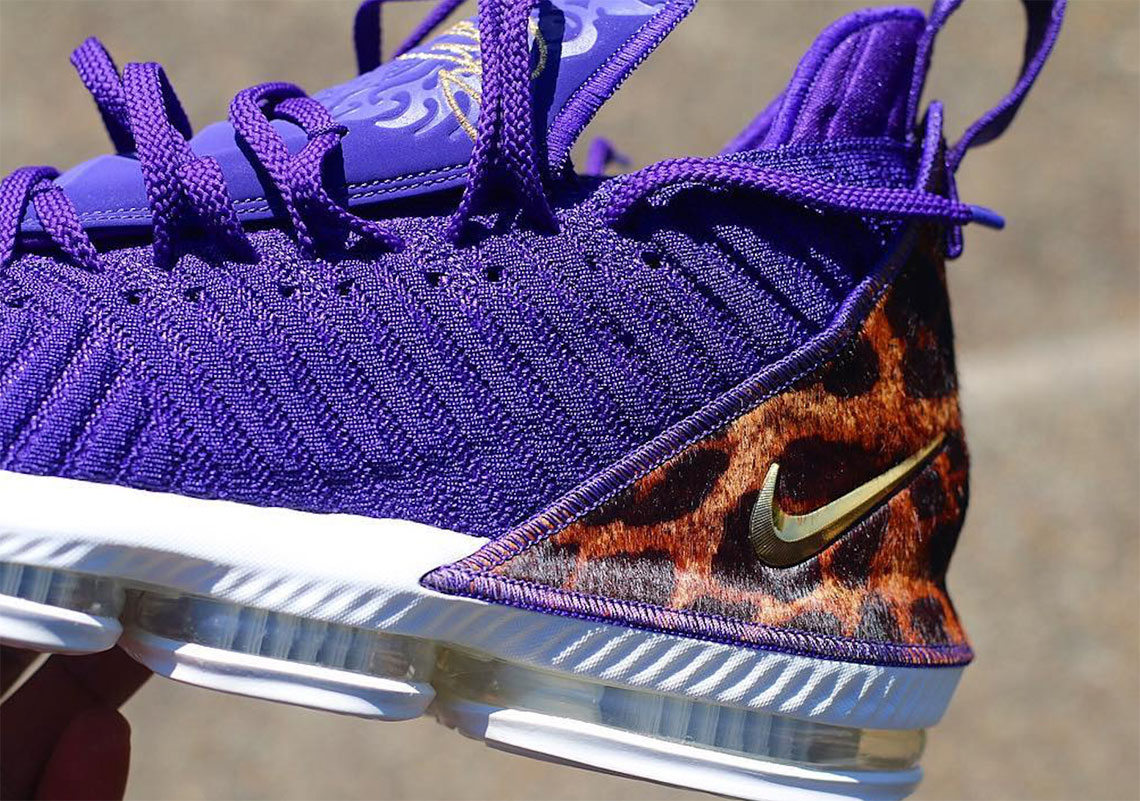 """b63760acf4a0 Grab a detailed look at the alternate Lebron 16 """"King"""" colorway here and tell  us which version you prefer. Advertisement. Advertisement"""