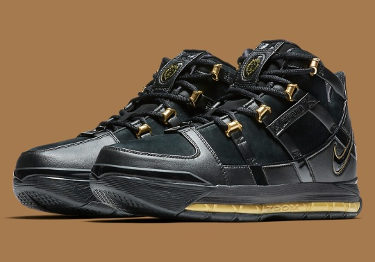 The Nike LeBron 3 Is Returning Soon In Original Black And Gold