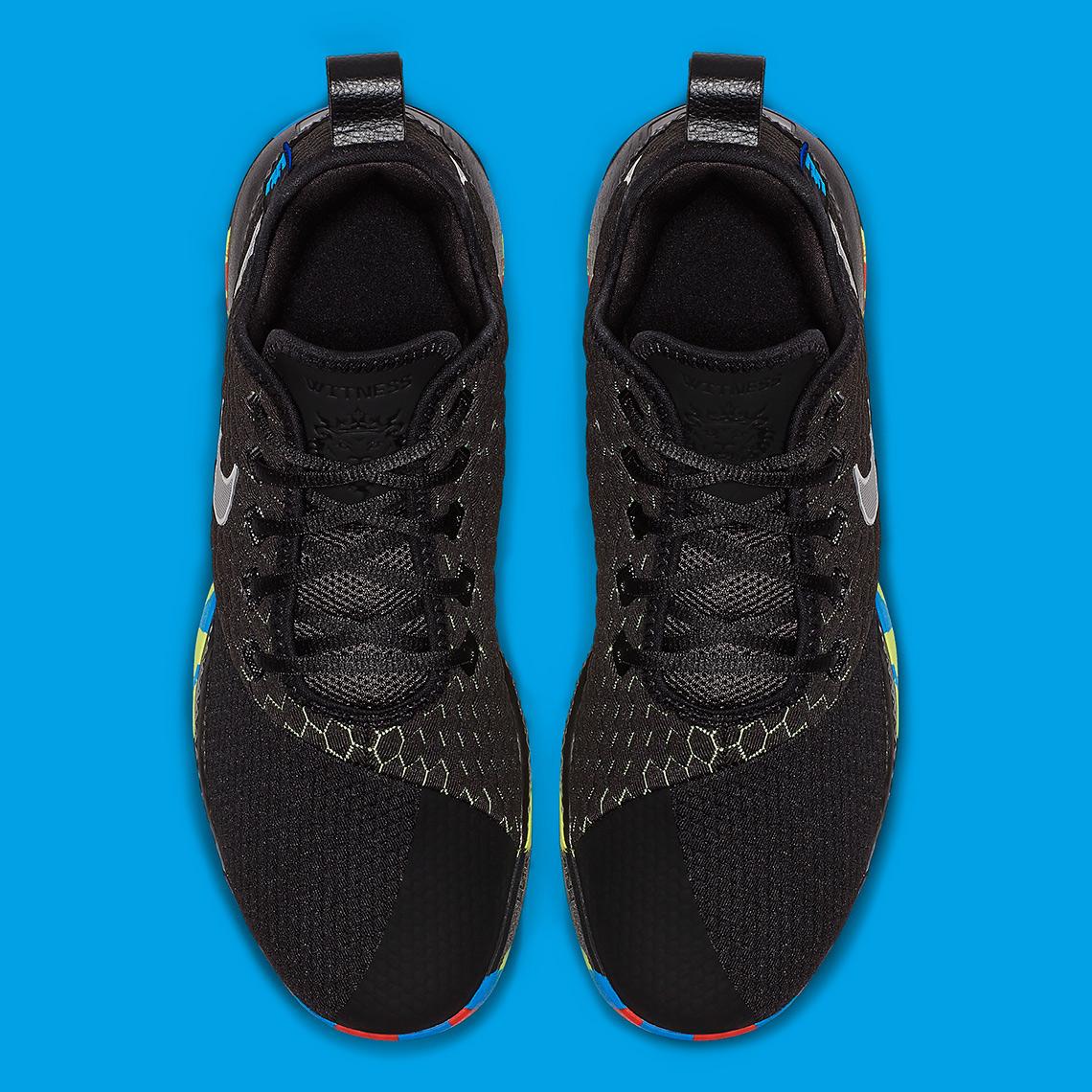 """nike lebron witness iii i promise AO4433 009 4 - Nike LeBron Witness III 3 """"I Promise"""" AO4433-009"""