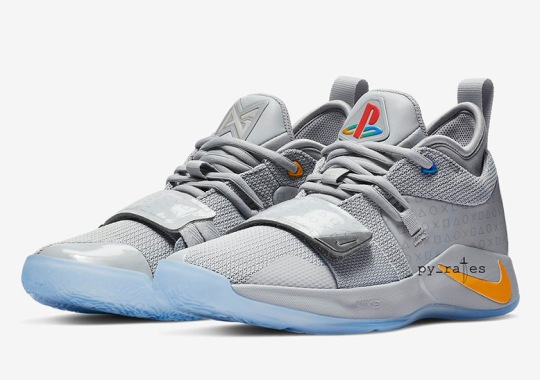 Paul George And Nike Honor The Original Sony Playstation With Grey Colorway