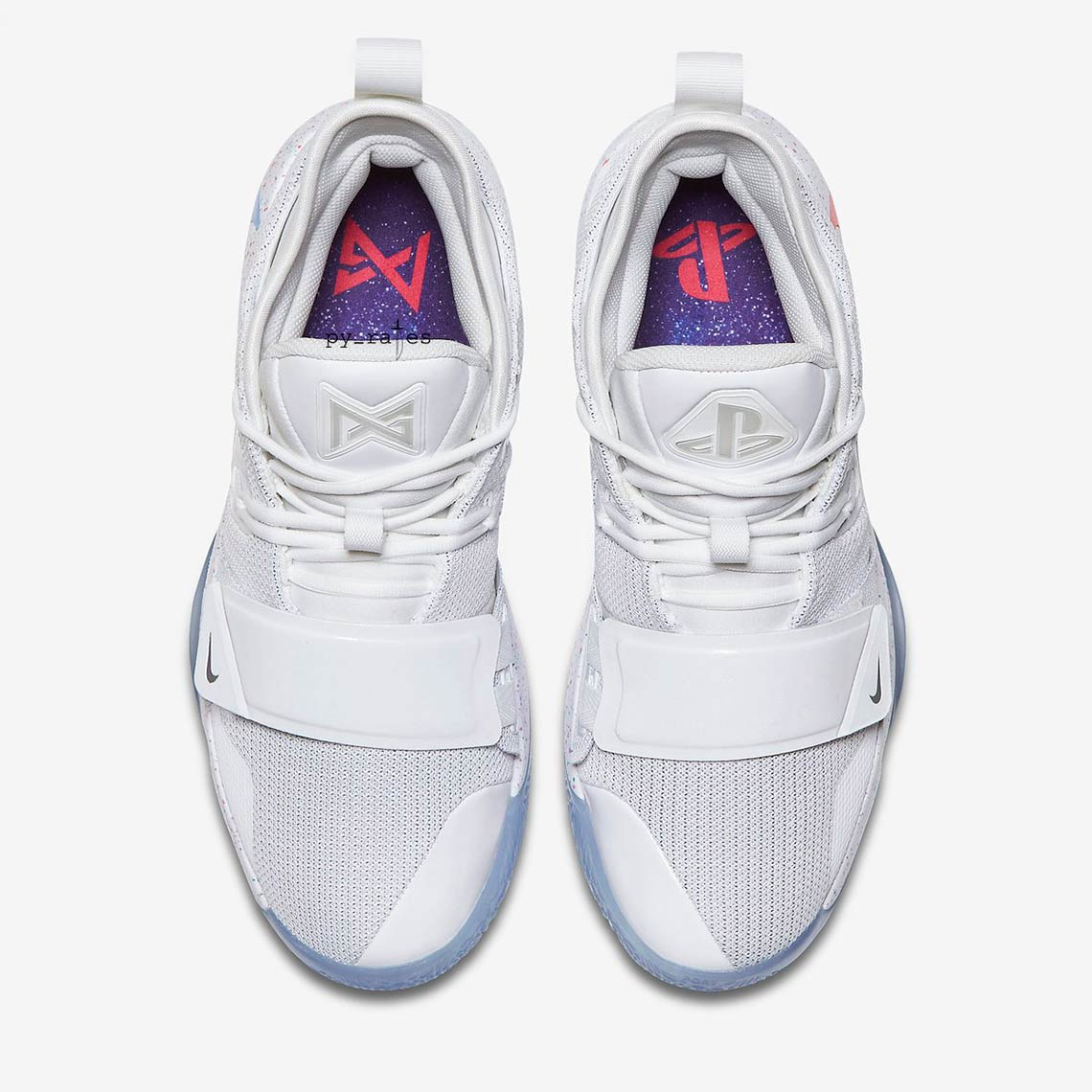 biggest discount 2d611 c5ac1 Nike PG 2.5 PlayStation White Paul George Release Info ...