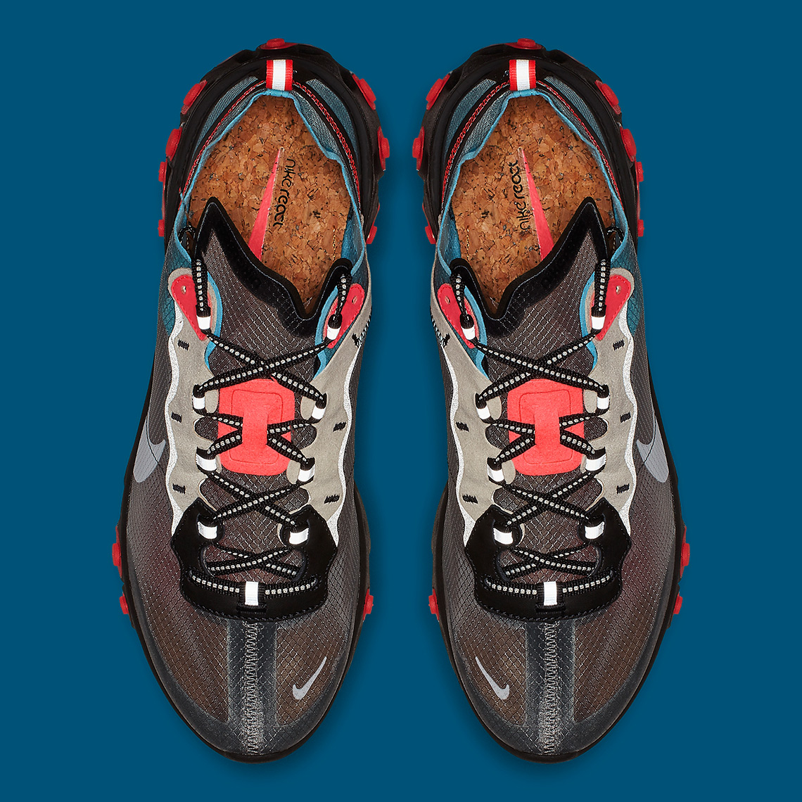info for 5b1b3 5f6ea Where To Buy Nike React Element 87 Blue Chill Solar Red AQ1090-006 ...