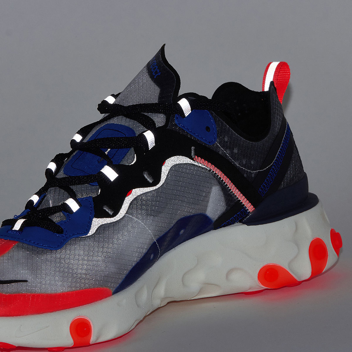 new product 9a816 39468 Nike React Element 87 Blue Orange AQ1090-004 Where To Buy ...