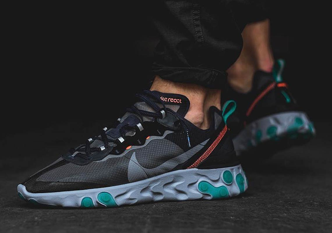 59459adb7382 Nike React Element 87. Release Date  October 11th