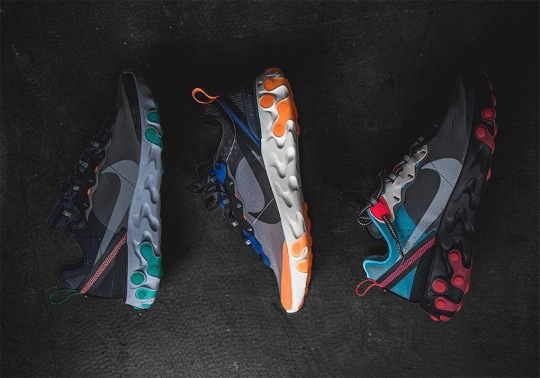The Nike React Element 87 October 2018 Release Collection Drops Tomorrow