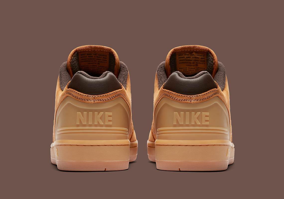 Nike SB Air Force 2 Low Premium BronzeMarron | AV3801 772