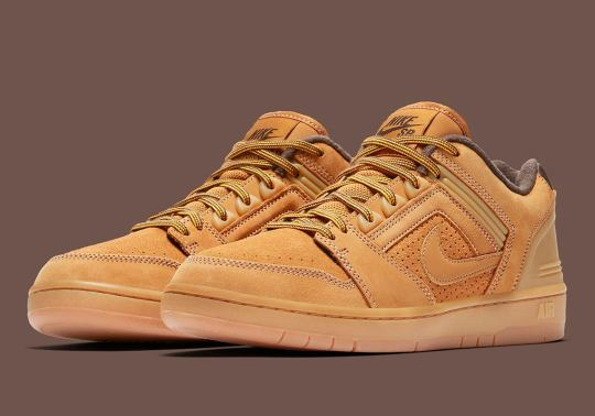 The Nike SB Air Force 2 Goes Full Workboot