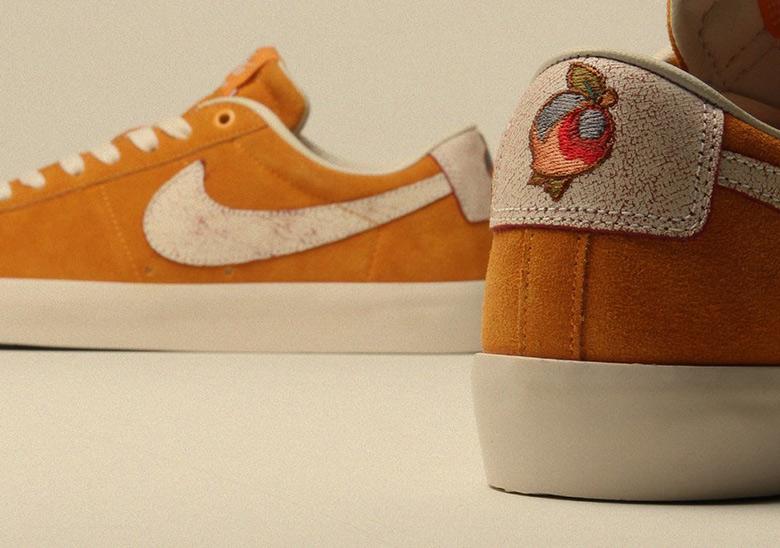 size 40 85192 f5836 Nike SB Blazer Low  95. Color  Circuit Orange Natural-Team Red