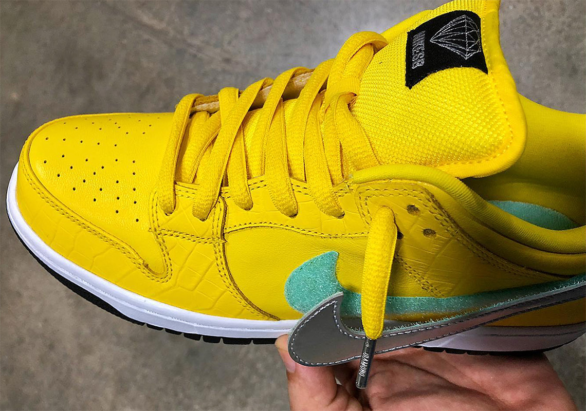 big sale 3814b 4803e ... Yellow Diamond Nike SBs below as well as a detailed look at the black  pair, keep it locked for updates as we have them, and stay tuned for  official drop ...