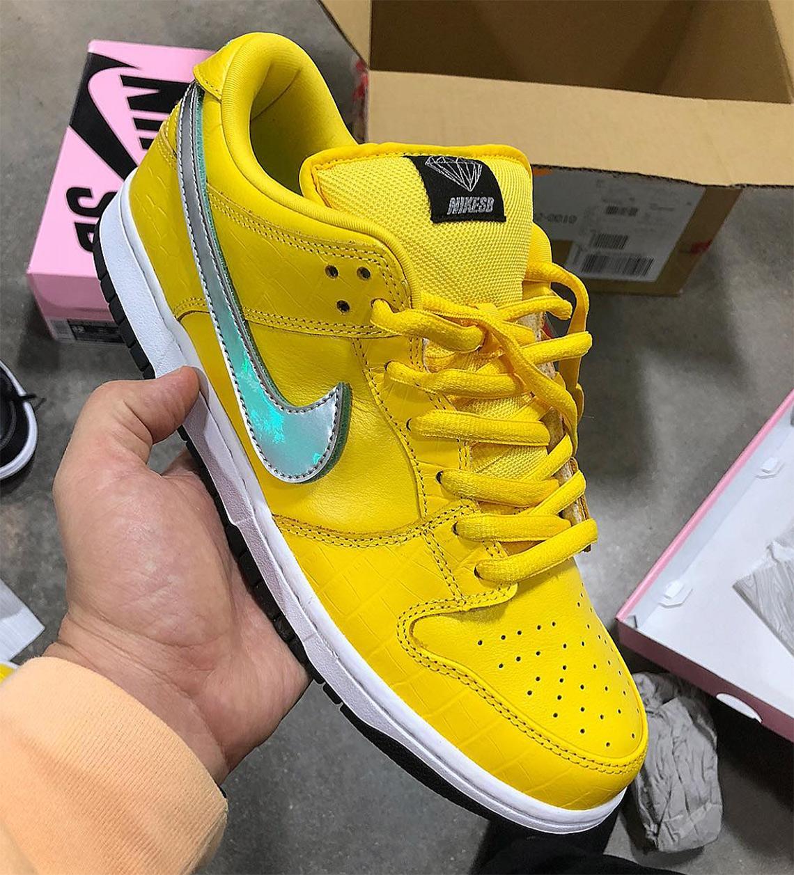 Yellow Diamond Nike Sb Dunk Low Release Info Sneakernews Com