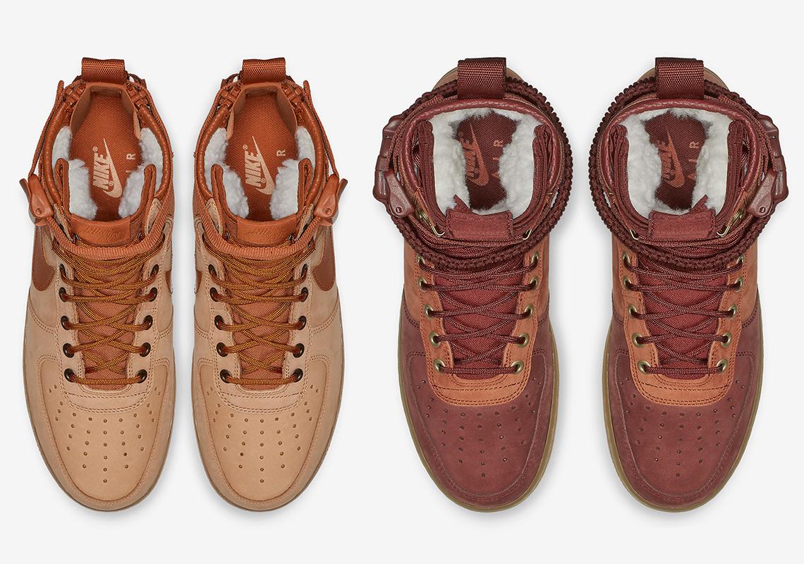 quality design 9e3be ff739 Nike SF-AF1 Sherpa Fleece AA1129-200 + AQ0118-200 ...