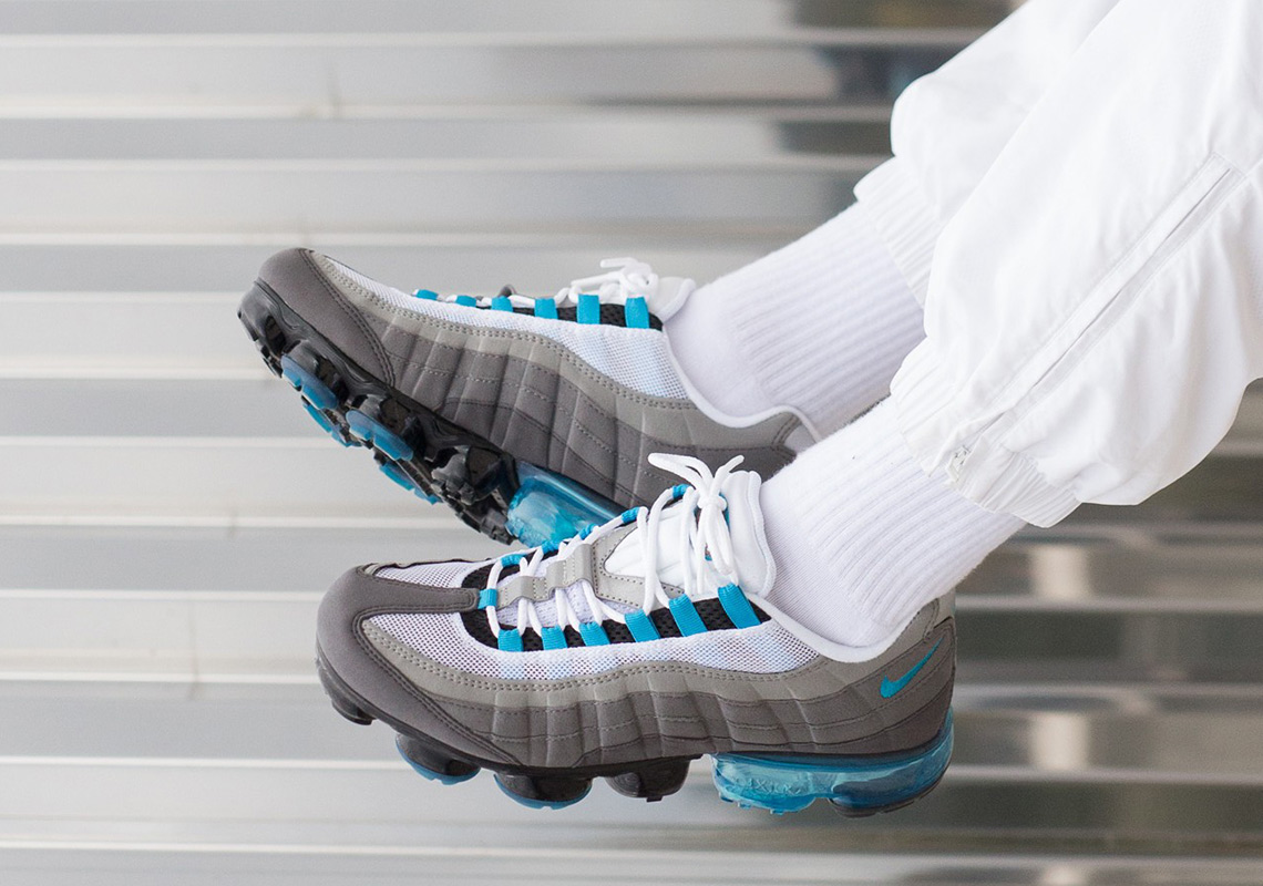 """ed7d9b89d62 The Nike Vapormax 95 """"Neo Turquoise"""" Is Available Now"""