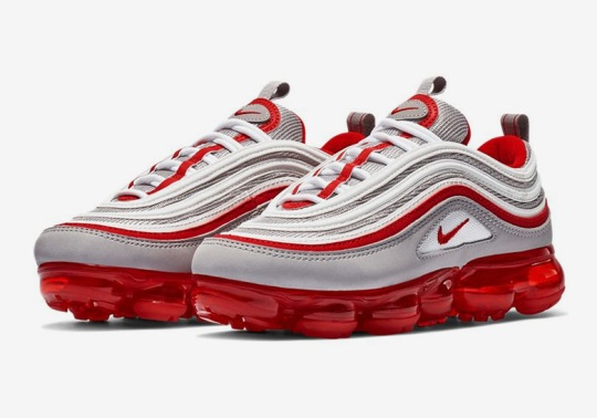 """Nike Vapormax 97 """"Atmosphere Grey"""" Just Released For Kids"""
