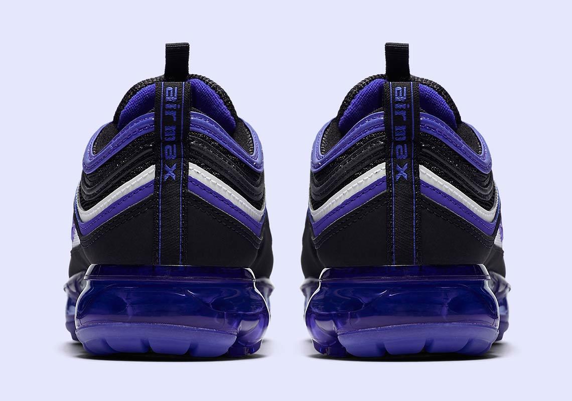 nike air vapormax 97 black persian violet